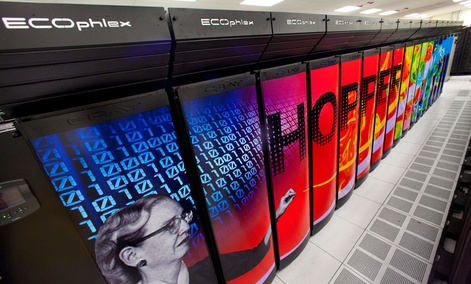 The Hopper Supercomputer Cluster at the Lawrence Berkeley National Laboratory.
