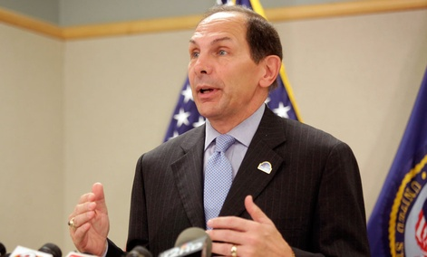 Secretary of Veterans Affairs Robert McDonald