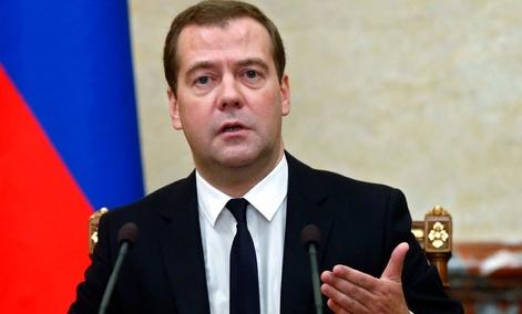 Russian Premier Dmitry Medvedev