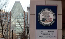 The U.S. Patent and Trademark Office is seen in Alexandria, Va.