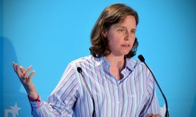 Former Google executive Megan Smith