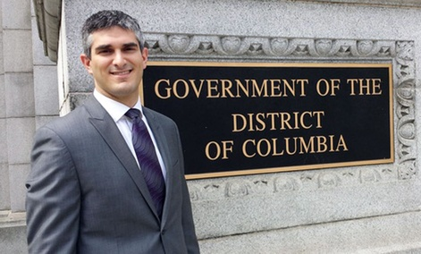 D.C. Council General Counsel V. David Zvenyach