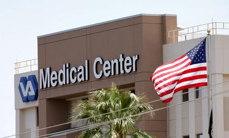 The Department of Veterans Affairs in Phoenix, Arizona.