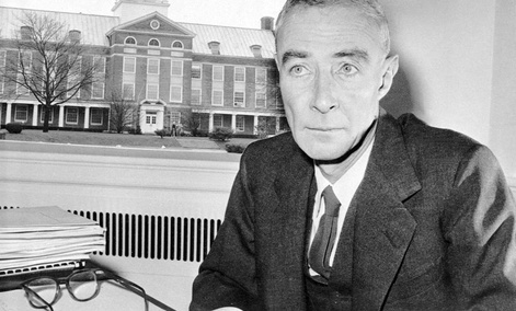 Dr. J. Robert Oppenheimer on December 5, 1958.