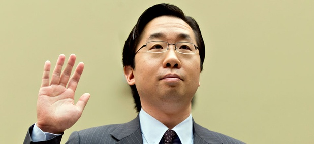 Todd Park, former U.S. chief technology officer at the White House Office of Science and Technology Policy testified before the House Oversight Committee, Nov. 13, 2013.