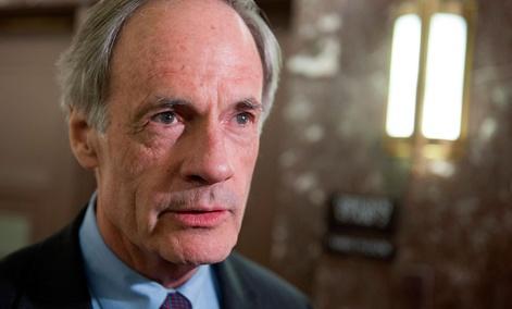 Ranking Member of the Senate Homeland Security Committee, Tom Carper, D-Del.