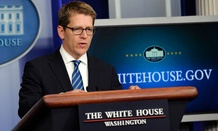 Former White House press secretary Jay Carney