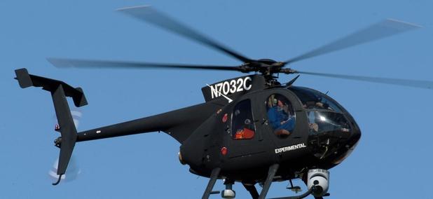 Boeing's unmanned little bird drone.