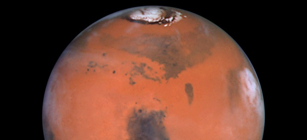 The Hubble Space Telescope's sharpest view ever of the Red Planet.