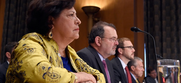 Witnesses testify before the Senate Homeland Security and Governmental Affairs Committee hearing on federal Cybersecurity and the OPM Data Breach.