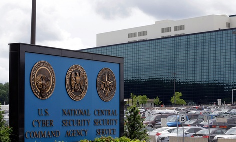 The National Security Administration campus in Fort Meade, Md.
