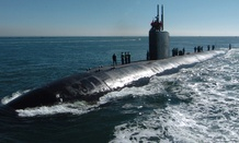 Navy Submarine USS Topeka