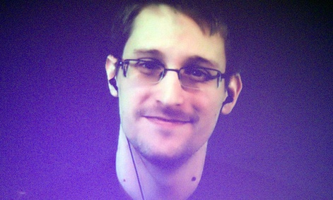 Former U.S. National Security Agency contractor Edward Snowden.