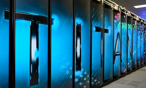 The Energy Department's Titan Supercomputer