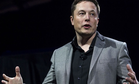 Elon Musk, CEO of SpaceX