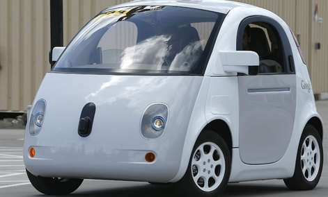 Google's new self-driving prototype car