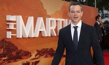 "Matt Damon, star of ""The Martian"""