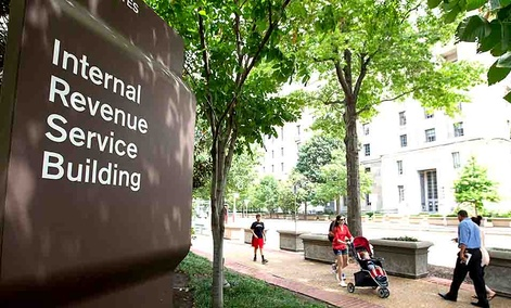 IRS headquarters in Washington, DC.