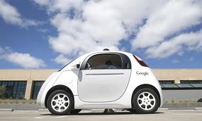 Google's new self-driving prototype car