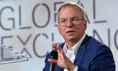 Eric Schmidt, Executive Chairman, Alphabet Inc.