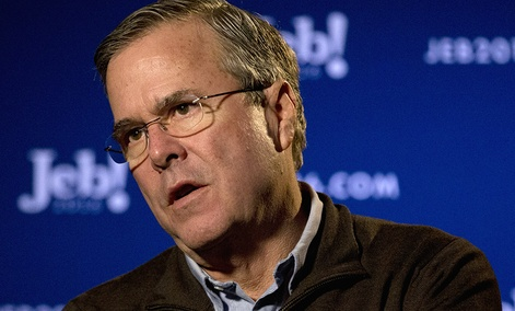Republican presidential candidate and former Florida Gov. Jeb Bush