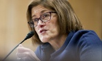 Beth Cobert, President Barack Obama's nominee to head the Office of Personnel Management (OPM), testifies on Capitol Hill in Washington, Thursday, Feb. 4, 2016