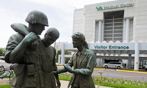 The VA hospital in Minneapolis.