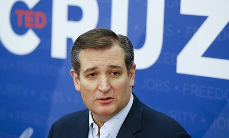 Republican presidential candidate Sen. Ted Cruz