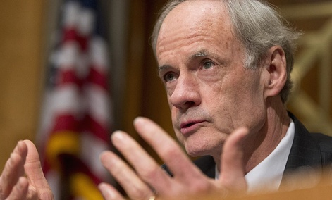 Senate Homeland Security and Government Affairs Committee ranking member Sen. Thomas Carper, D-Del.