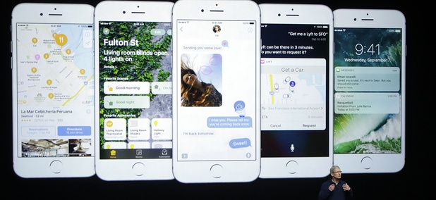 Apple CEO Tim Cook discusses the iPhone 7 and new iOS 10 operating system.