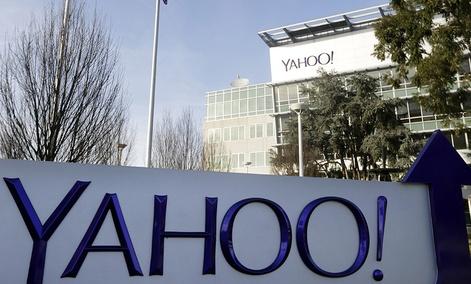 Yahoo's headquarters in Sunnyvale, Calif.