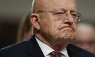 Director of National Intelligence James Clapper listens while testifying on Capitol Hill in Washington, Thursday, Jan. 5, 2017.