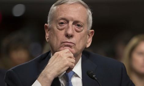 Defense Secretary-designate James Mattis
