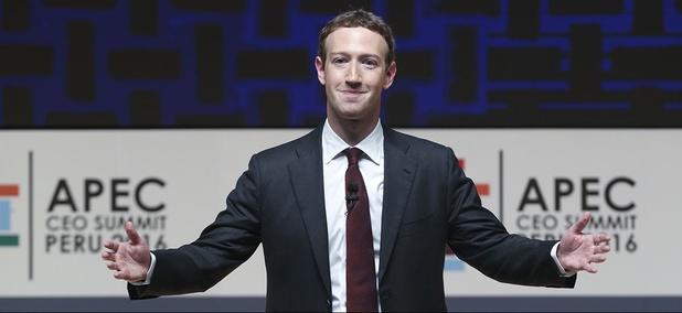 Mark Zuckerberg, chairman and CEO of Facebook