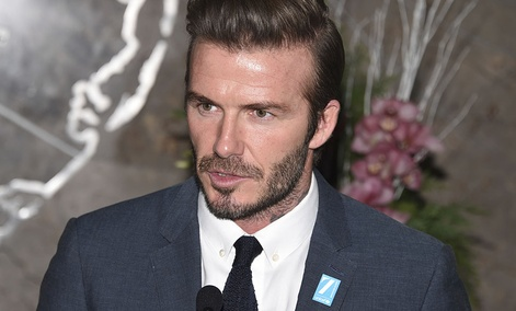 UNICEF Goodwill Ambassador David Beckham lights the Empire State Building in honor of UNICEF's 70th anniversary on Monday, Dec. 12, 2016, in New York.