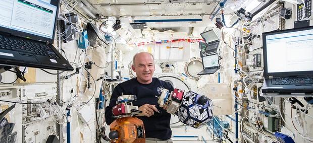 NASA astronaut Jeff Williams