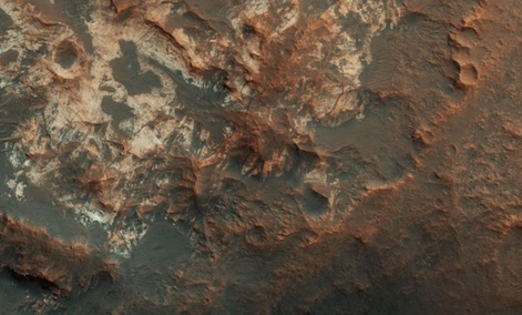 Mawrth Vallis, a valley between Mars's northern lowlands and southern highlands Mawrth Vallis, a valley between Mars's northern lowlands and southern highlands