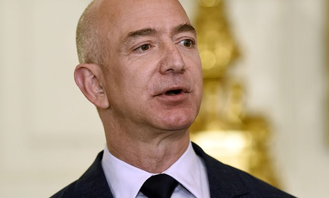 Jeff Bezos, the founder and CEO of Amazon.com