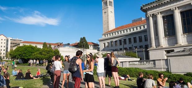 Students at the University of California, Berkeley.