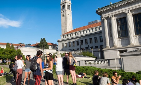 Students at the University of California, Berkeley.