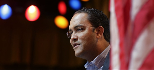 Rep. Will Hurd, R-Texas, speaks to the South San Antonio Chamber of Commerce in 2015.