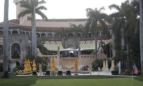President Donald Trump's Mar-a-Lago estate in Palm Beach, Fla.