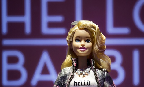 Hello Barbie records and stores conversations between kids and their dolls to improve speech-recognition technology and help its makers create more relevant automated responses for kids.
