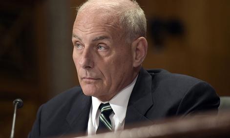 Homeland Security Secretary John Kelly testifies on Capitol Hill in Washington, June 6, 2017