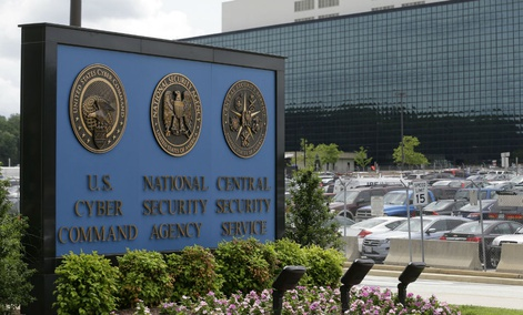 The National Security Administration campus in Fort Meade, Maryland.