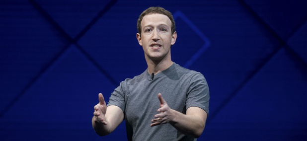 Facebook CEO Mark Zuckerberg speaks at his company's annual F8 developer conference, Tuesday, April 18, 2017, in San Jose, Calif.