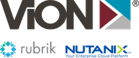 ViON | Nutanix | Rubrik logo
