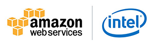 Amazon/Intel logo