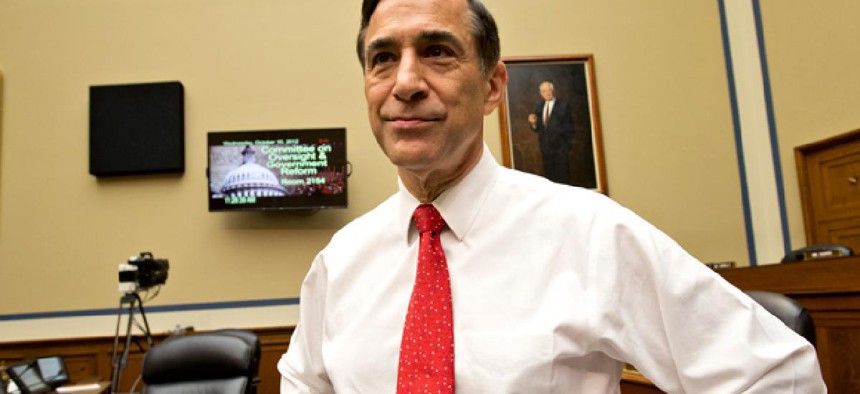 House Oversight Committee Chairman Darrell Issa, R-Calif.