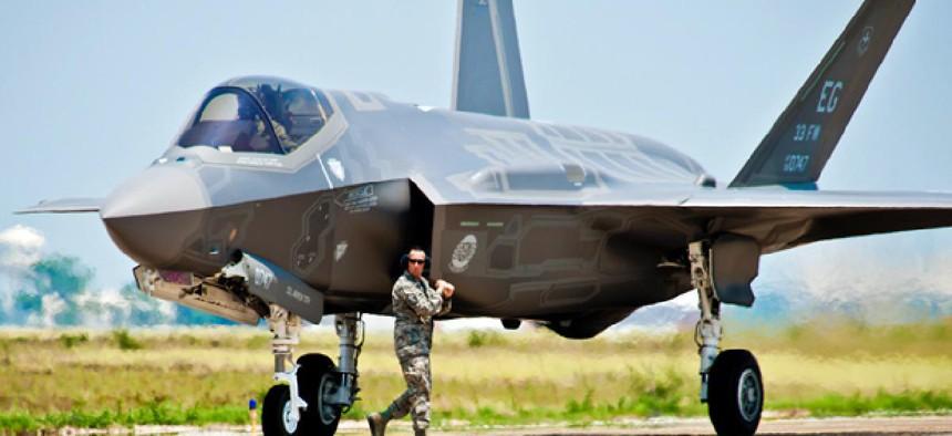 U.S. Air Force F-35 Lightning II joint strike fighter